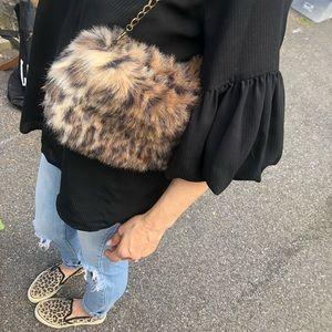 BOOTCHIE BAG Custom-made bag. Faux Leopard print